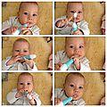 Soulager les poussées dentaires de bébé avec la trousse baby'care dentaire de visiomed (test et concours)