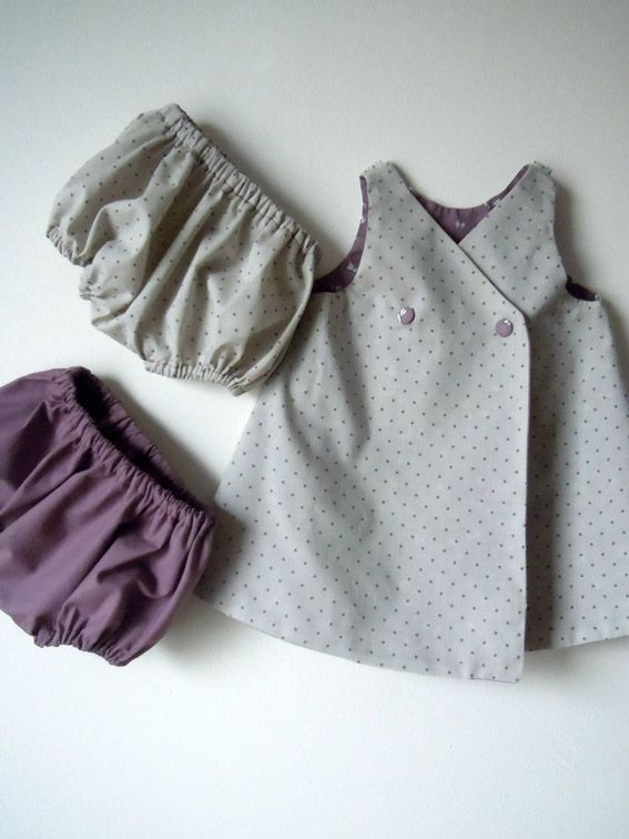 Tenue robe-gilet-bloomer 1-2