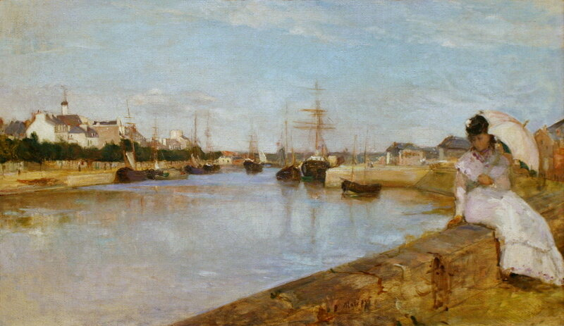 Berthe_Morisot_The_Harbor_at_Lorient