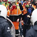 Manifestations anti-austérité monstres à bruxelles