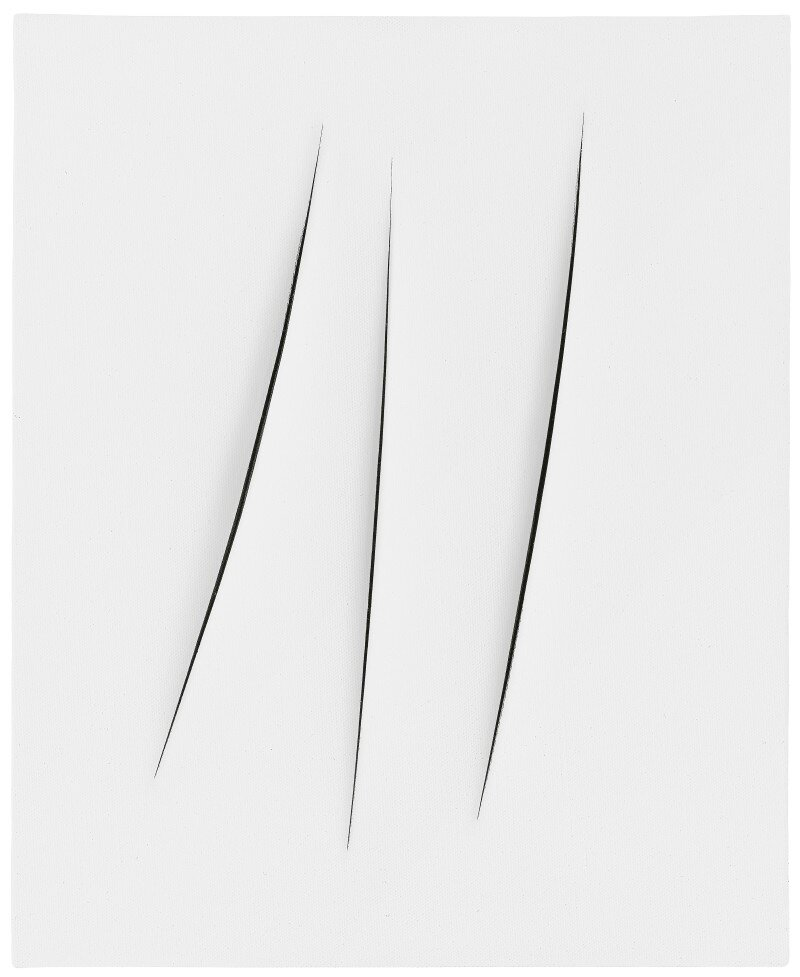 Exhibition outlines the relationship between Fontana and Melotti