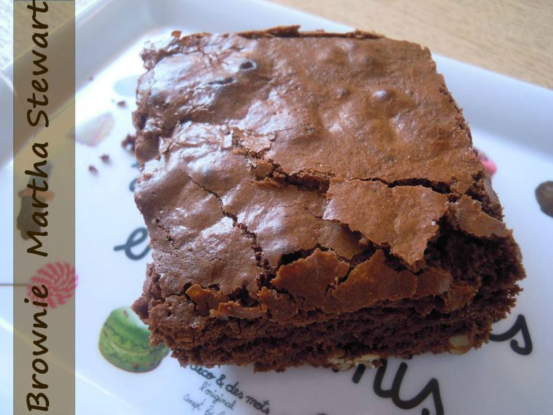 Brownie De Martha Stewart Le Coin Repas