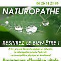 La naturopathie en quelques mots