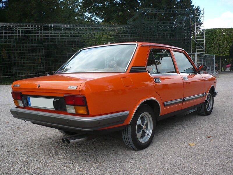 FIAT 132 2000 berline 1979 Schwetzingen (2)