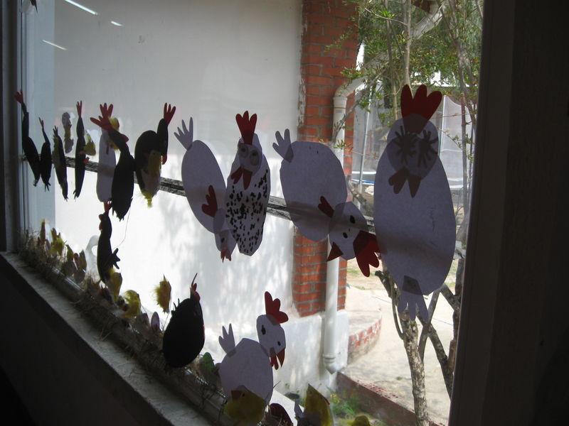 Paques panier poules poussins et compagnie les - Panier poule paques ...