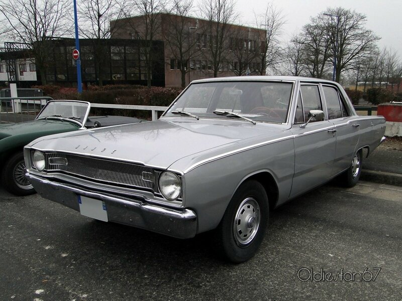 dodge dart 4door sedan 1967 a