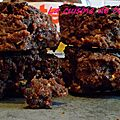 Brownie gourmand et limite coulant