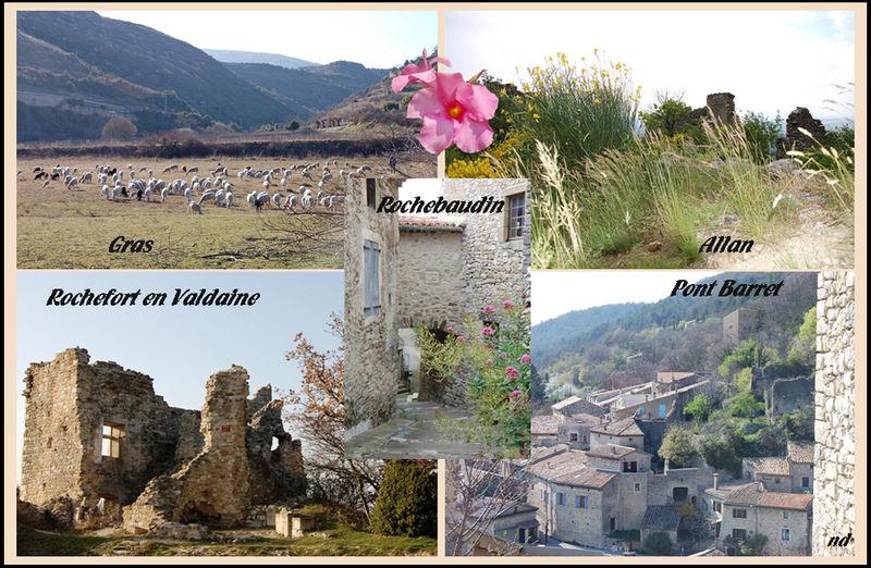 Villages de la Drôme et de l'Ardèche