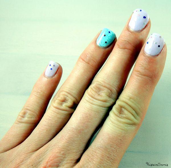 Essence hello marshmallow alessandro pale blue lagoon et 2B glitter red blue et 2B glitter (4)
