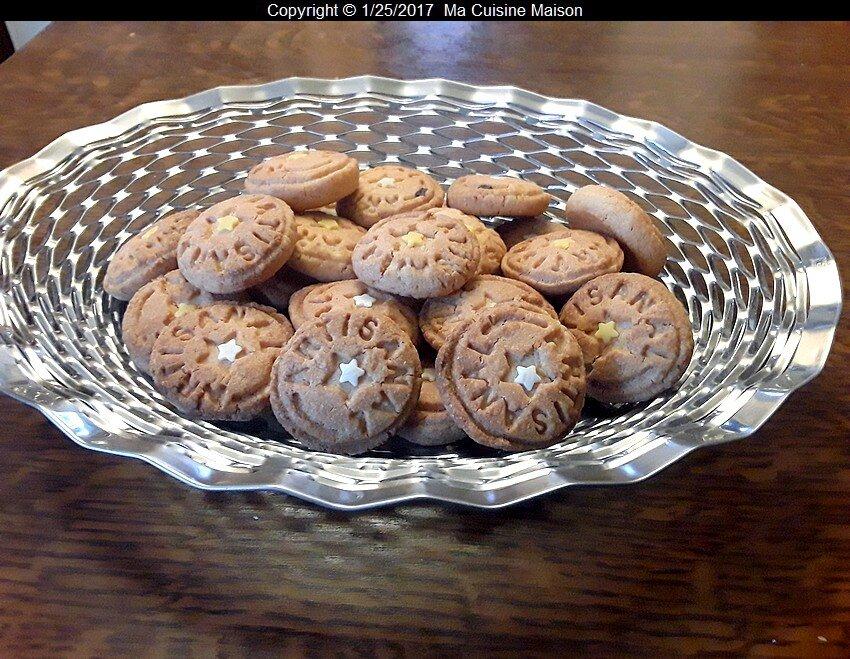 BISCUITS SABLES RHUM COCO (recette maison)