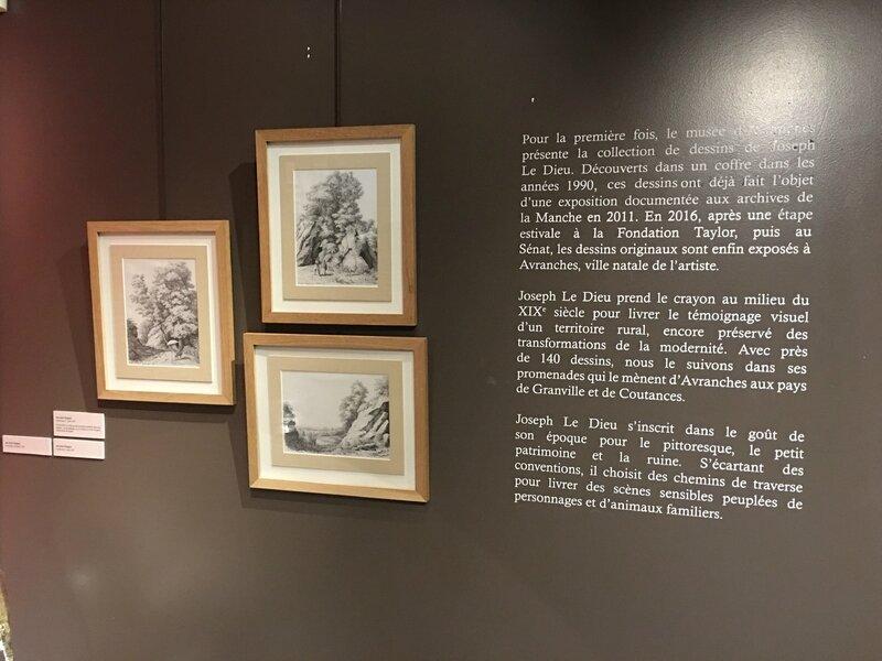 exposition expo Joseph Le Dieu dessin Scriptorial Avranches 2016