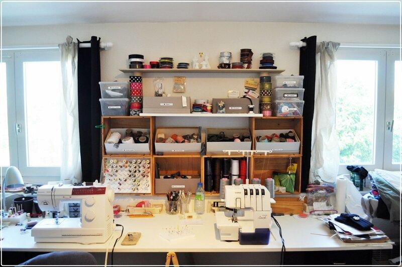 rangement d 39 atelier et petites astuces my cr ative. Black Bedroom Furniture Sets. Home Design Ideas