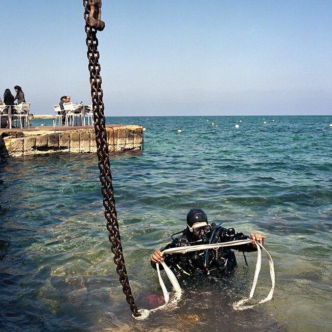 malte gozo marsalforn plonge