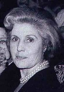 Renée Simonot mère de Catherine Deneuve