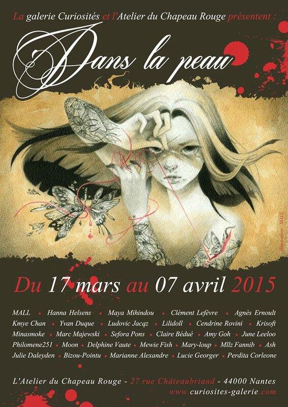 flyer expo Dans la peau_Mars 2015