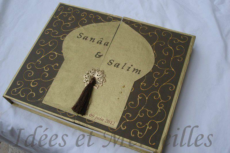 un livre dor sur le thme orential - Livre D Or Mariage Oriental