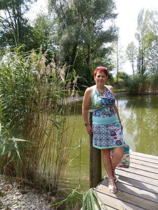 robe bénitier étang