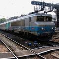 BB 7402 arrivant à Austerlitz en tête d'un Aqualys