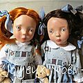 Tenues de fête pour mes jumelles zwergnase