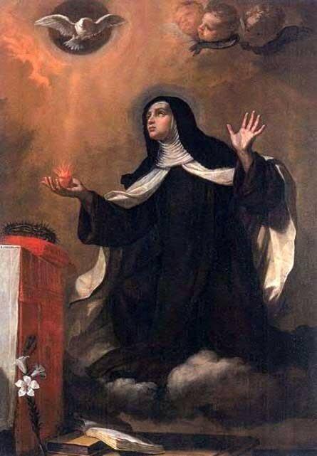 Sainte Marie-Madeleine de Pazzi 2