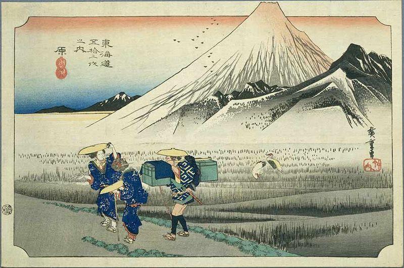08-Hiroshige - 53 vues du Tôkaidô