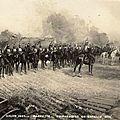 Bardette, cuirassiers en bataille, 1905