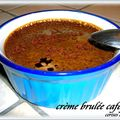 CREME BRULEE AU CAFE FORT 