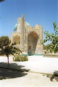 Balkh_green_mosque
