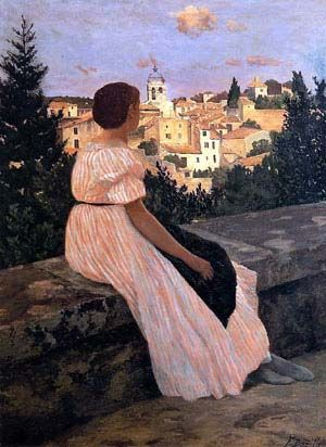 bazille_robe_rose