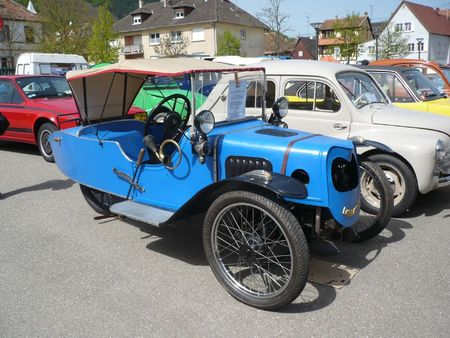 DARMONT Morgan type C Cycle Car Châtenois (1)