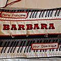 2015 Livre textile Barbara