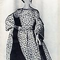 Marguerites Louise Dahl-Wolfe in Balenciaga 1954 Black and White