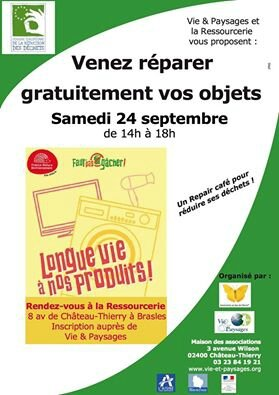 repair cafe chateau