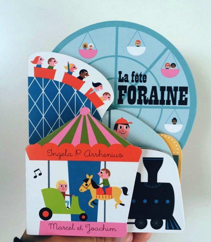 5-LIVRES-LA-FETE-FORAINE-ENFANTS-INGELA-P-ARRHENIUS-MA-RUE-BRIC-A-BRAC