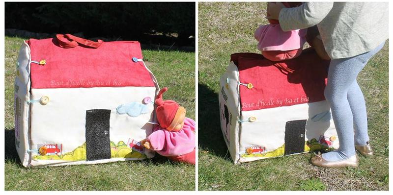 la maison de poupées par Isa