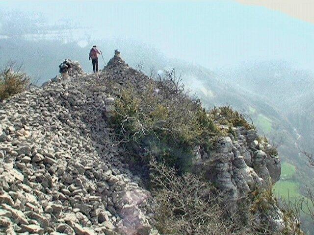 Roche Brune 932 m - de Pommiers - Chartreuse