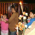 la Vía Crucis en la Sagrada Familia