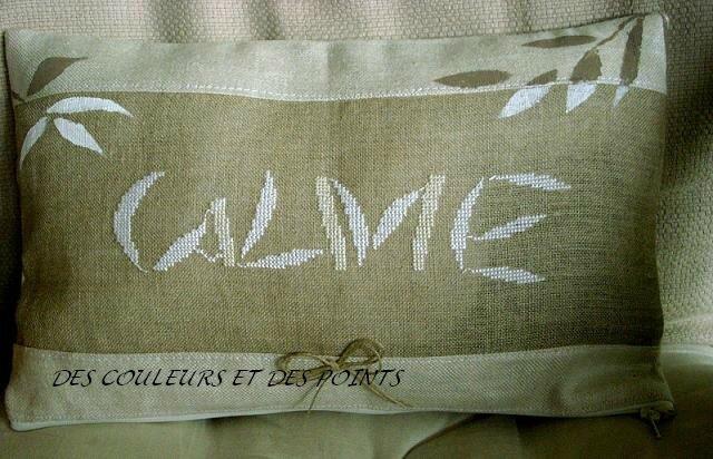 COUSSIN CALME bis