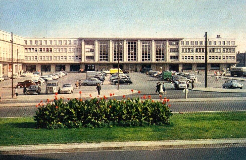 Amiens, la gare du Nord, 1964