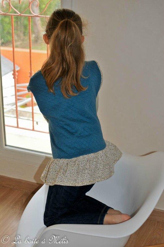 chaleureux HLW Mélie genoux dos