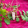 Triple Moon pendant in Deer Antler1