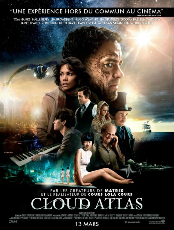 Souvent Cloud Atlas, de Tom Tykwer, Lana et Andy Wachowski,(2013) - Bien  QM44