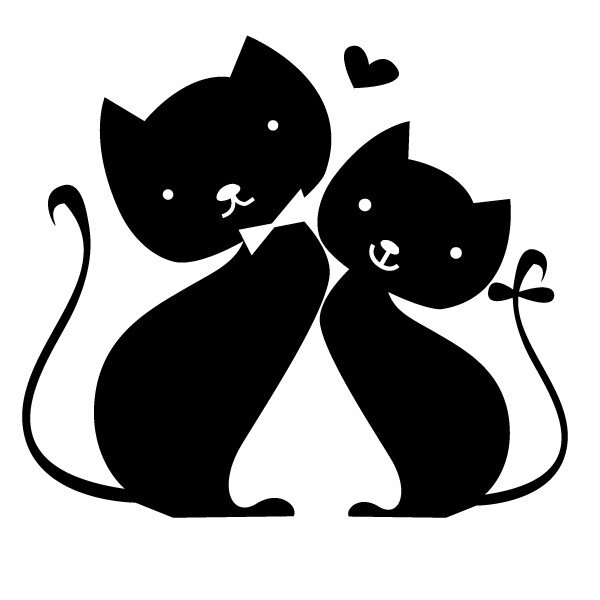 stickers-chats-amoureux