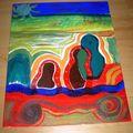Peinture acrilyque