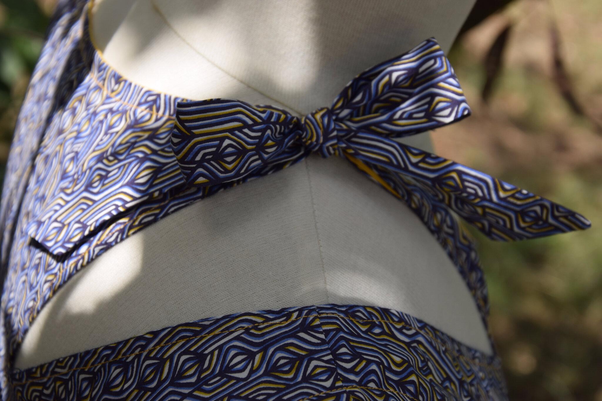 """Robe 22 magasine Fashion Style 3H, pour un nouveau défi Cdesyle """"les bretelles de ma robe"""""""