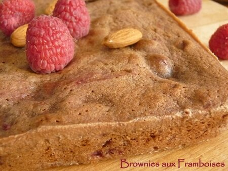 Brownies aux framboises2