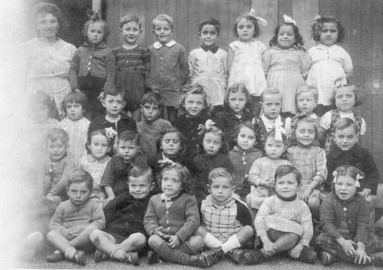 école Lavieu 1945
