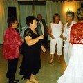 soirée dansante (nos hôtesses de Fantasia:Juliette, Ghislaine en 2005 et Francine de dos ! pour 2007)
