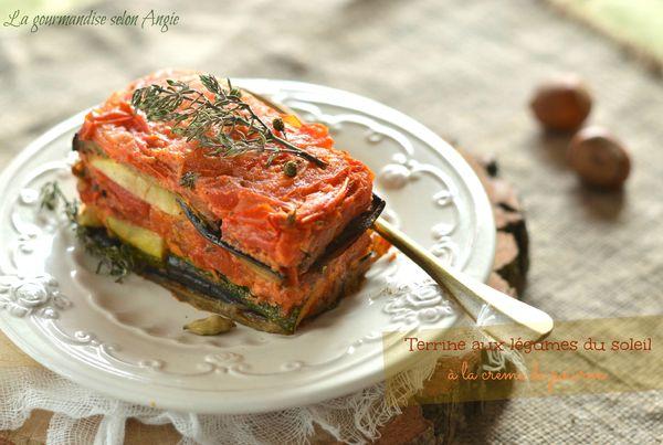 terrine aubergine tomates poivron courgette thym 1
