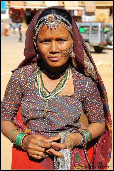 Vendeuse de bijoux à Jaisalmer 2
